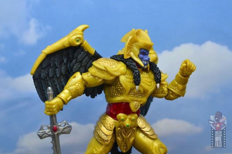power rangers lightning collection goldar figure review - ready for battle
