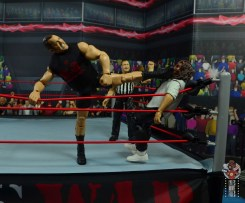 wwe elite 71 the big show figure review - big boot to mankind in the corner