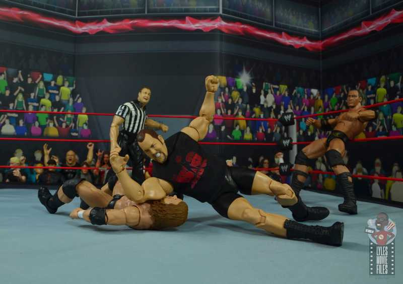 wwe elite 71 the big show figure review - elbow drop to triple h