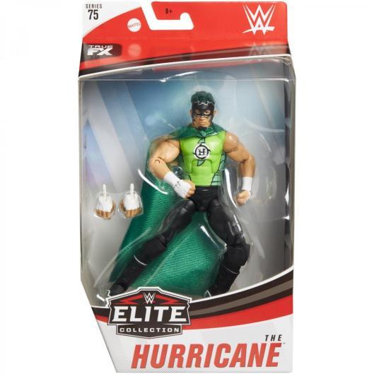 wwe elite 75 - hurricane figure -package front