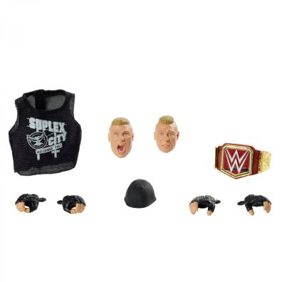 wwe ultimate edition brock lesnar -accessories