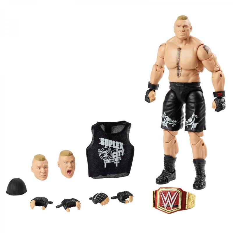 wwe ultimate edition brock lesnar -full accessories
