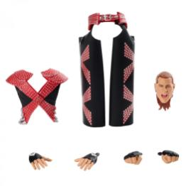 wwe ultimate edition shawn michaels -accessories