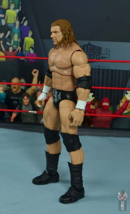 wwe ultimate edition triple h figure review - left side