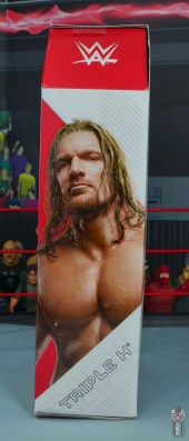 wwe ultimate edition triple h figure review - package side