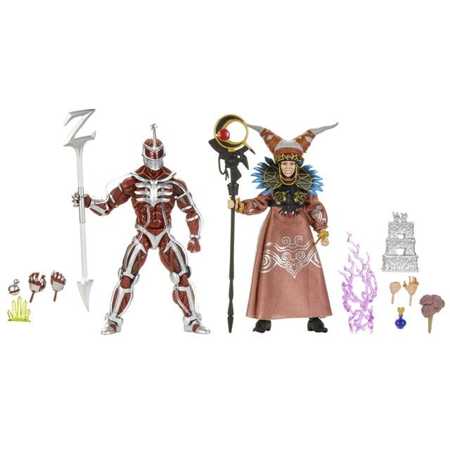 Power Rangers Lightning Collection Rita Repulsa and lord Zedd