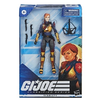 E8495 - GI JOE Classified Series Scarlett Figure - IP