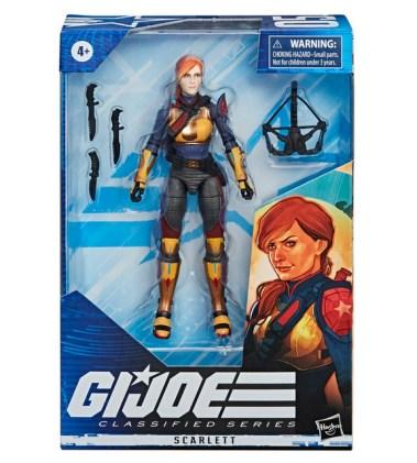 G.I. Joe Classified Series - Scarlett packaged