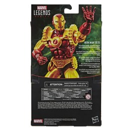 MARVEL LEGENDS SERIES 6-INCH IRON MAN 2020 Figure - in pck (2)