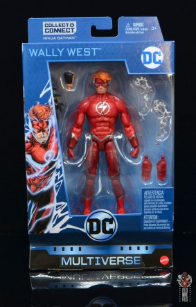dc multiverse wally west figure review - package front