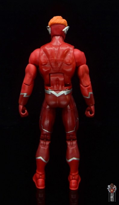 dc multiverse wally west figure review - rear