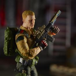 gi joe classified duke figure - close up