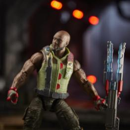 gi joe classified roadblock figure - holding blaster