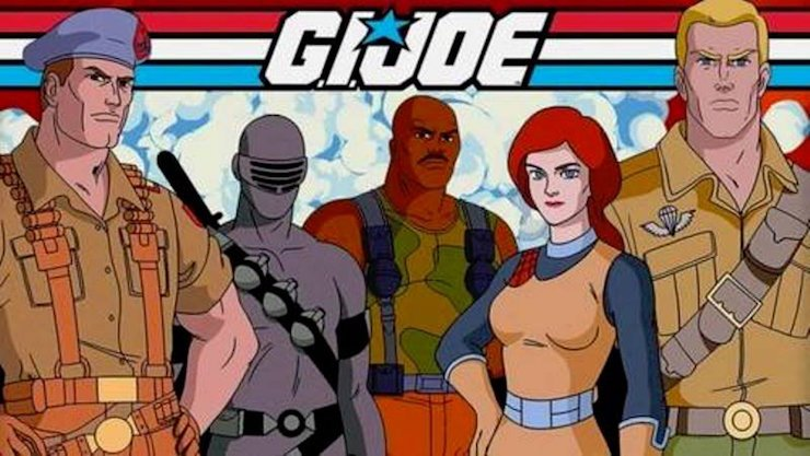 gi joe the revenge of cobra - flint, snake eyes, roadblock, scarlet and duke