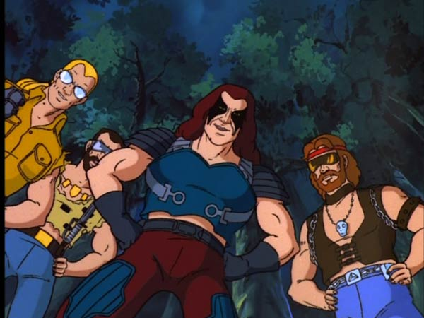 gi joe the revenge of cobra - zartan and the dreadnoks