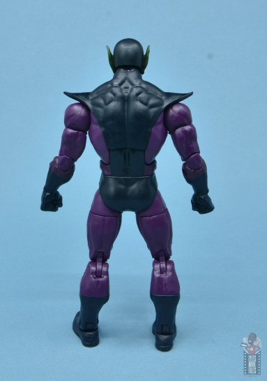 marvel legends build-a-figure super skrull figure review - rear
