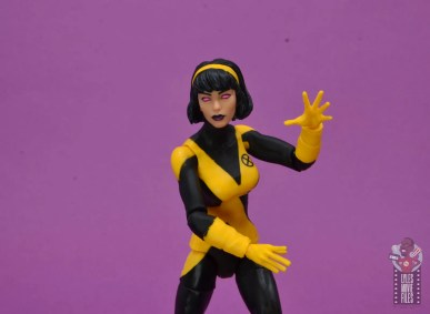 marvel legends dani moonstar figure review - karma close up