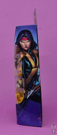 marvel legends dani moonstar figure review - package side