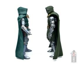 marvel legends doctor doom figure review - facing first hasbro doom figure