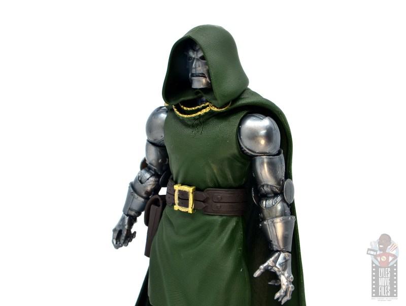 marvel legends doctor doom figure review - modern mask side