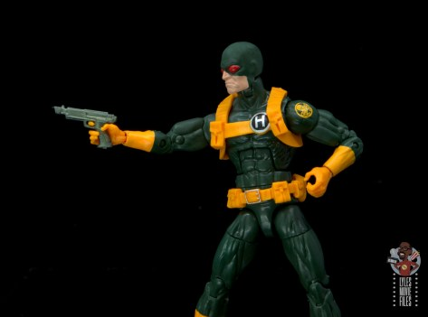 marvel legends hydra soldier figure review - holding pistol