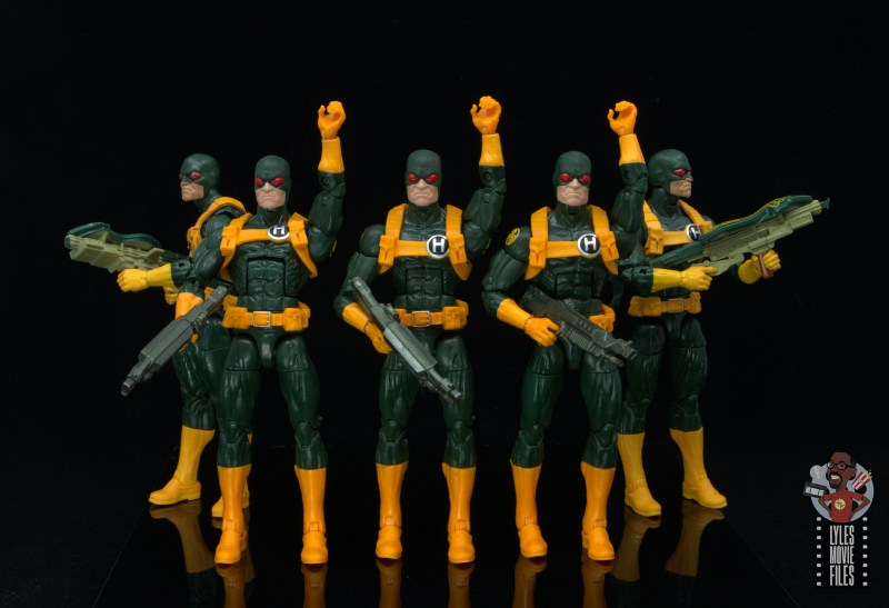 marvel legends hydra soldier figure review -hydra assembled