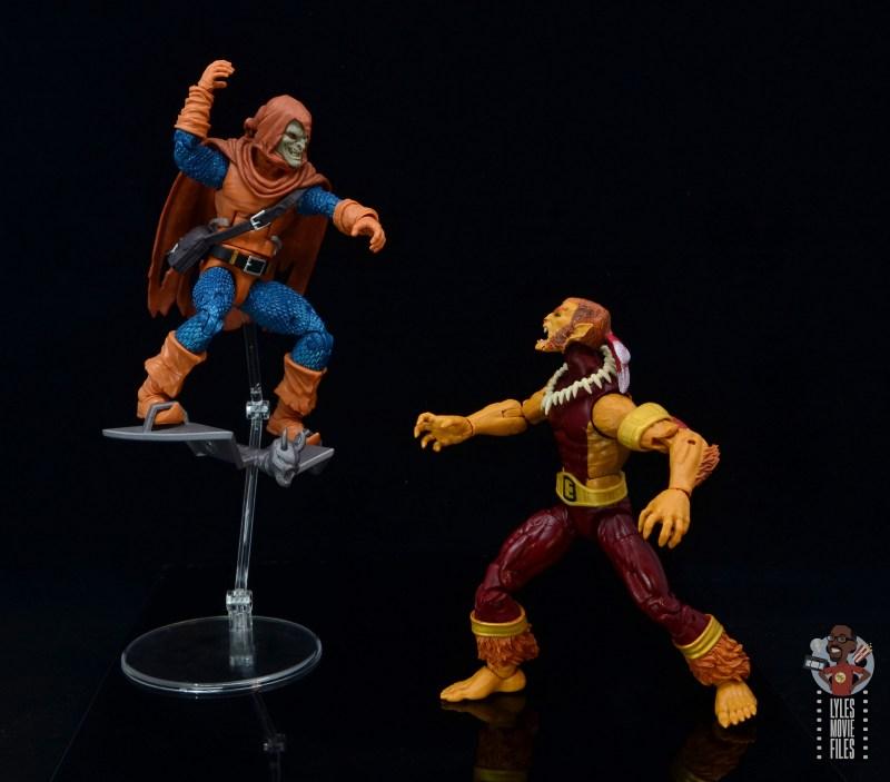 marvel legends puma figure review - facing off with hobgoblin