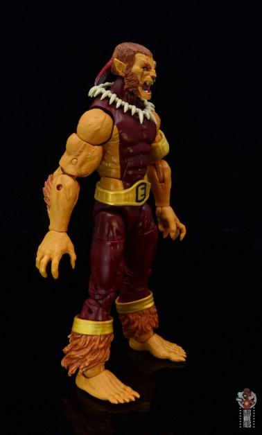 marvel legends puma figure review - right side