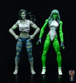 marvel legends she-hulk figure review - with first hasbro she-hulk