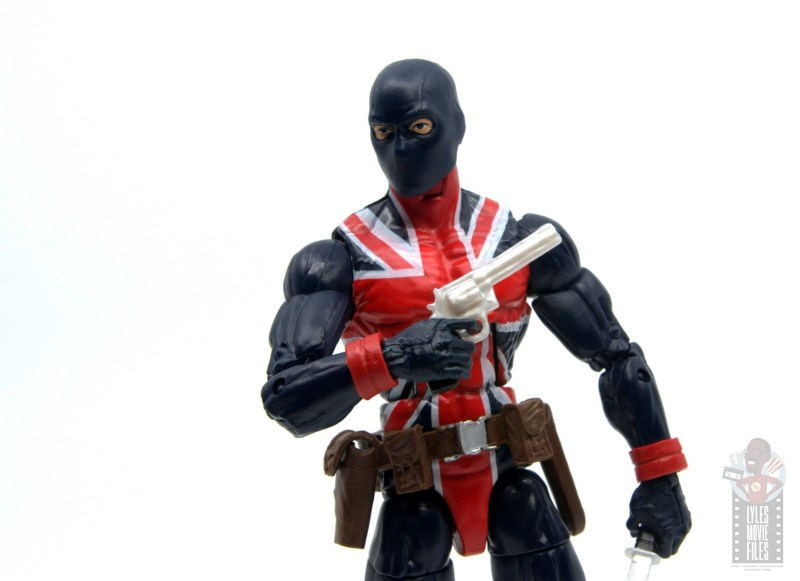 marvel legends union jack figure review - raising up revolver