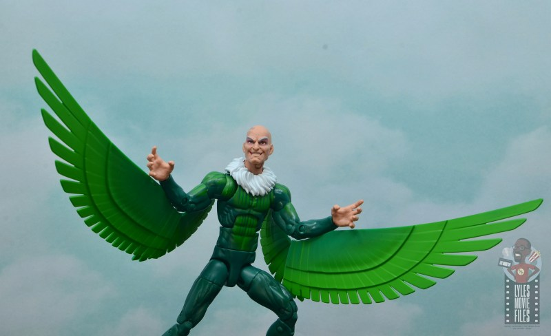 marvel legends vulture figure review - ready to attack