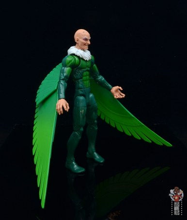 marvel legends vulture figure review - right side