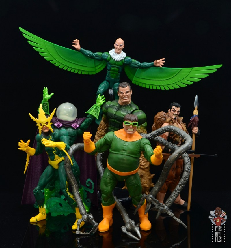 marvel legends vulture figure review - with sinister six