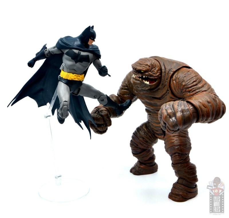 mcfarlane dc multiverse baman figure review - jump kicking clayface