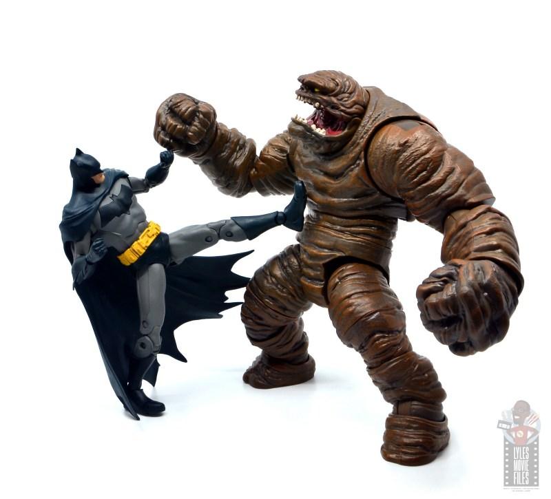mcfarlane dc multiverse baman figure review - kicking clayface