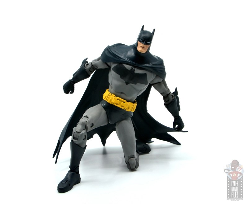 mcfarlane dc multiverse baman figure review - on one knee