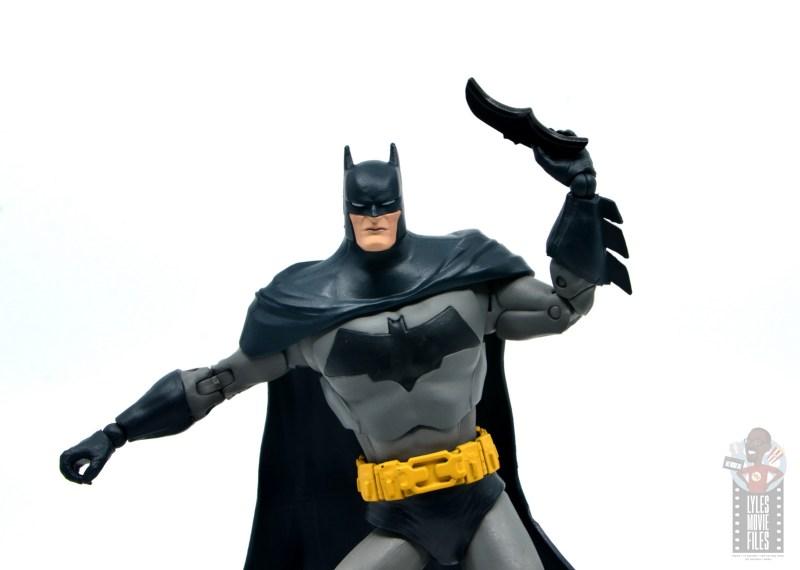 mcfarlane dc multiverse baman figure review - raising batarang
