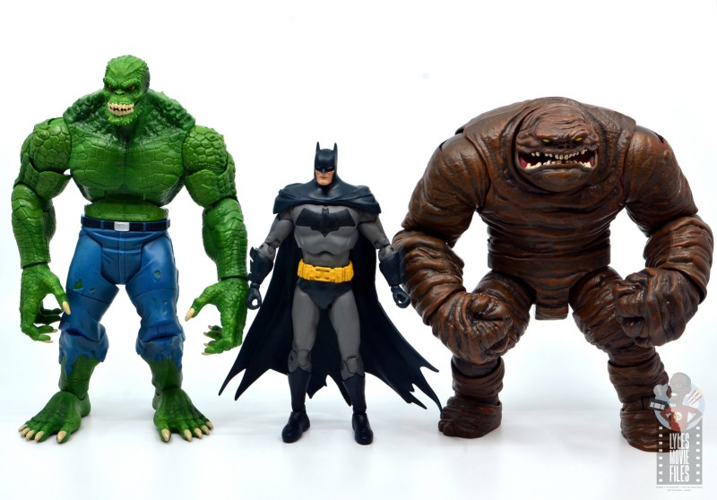 mcfarlane dc multiverse baman figure review -scale with killer croc and clayface