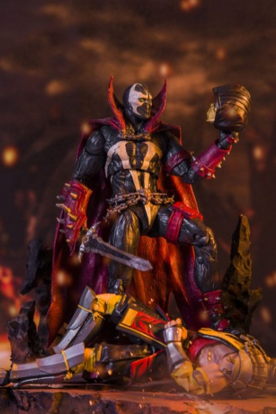 mcfarlane toys -mortal kombat 11 spawn figure with scorpion head