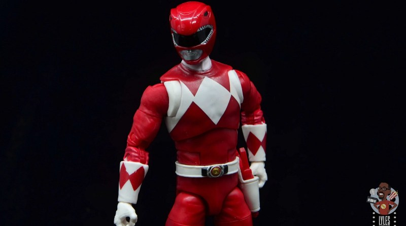 power rangers lightning collection red ranger figure review - main pic