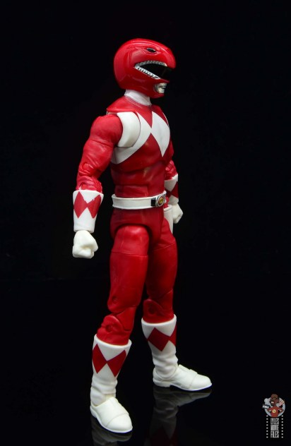 power rangers lightning collection red ranger figure review - right side
