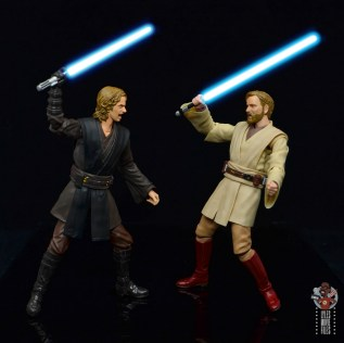 sh figuarts obi-wan kenobi revenge of the sith figure review - fighting anakin