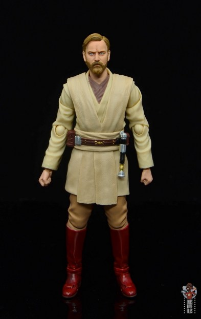 sh figuarts obi-wan kenobi revenge of the sith figure review - front