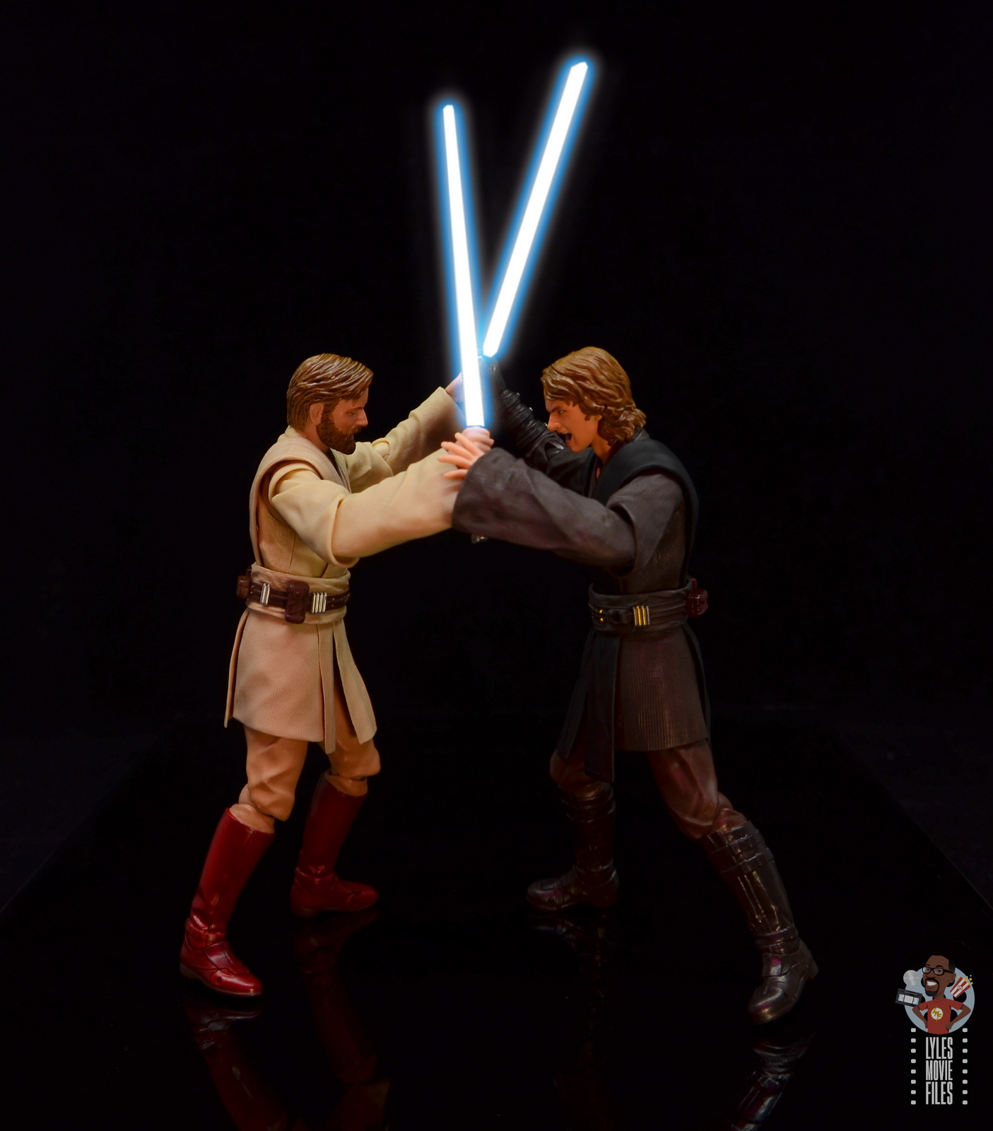 Sh Figuarts Obi Wan Kenobi Revenge Of The Sith Figure Review Vs Anakin Lyles Movie Files