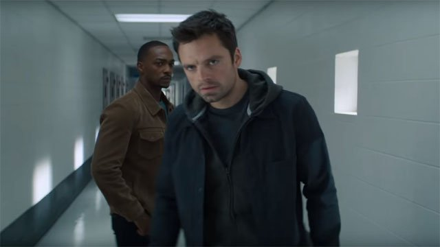 the falcon and the winter soldier - sam and bucky