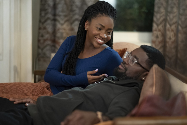 the photograph review - teyonnah parrish and lil rel howery