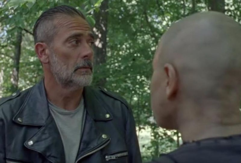 the walking dead - squeeze review - negan and alpha