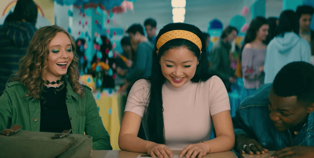 to all the boys i've loved before ps i still love you review - chris, laura jean and lucas
