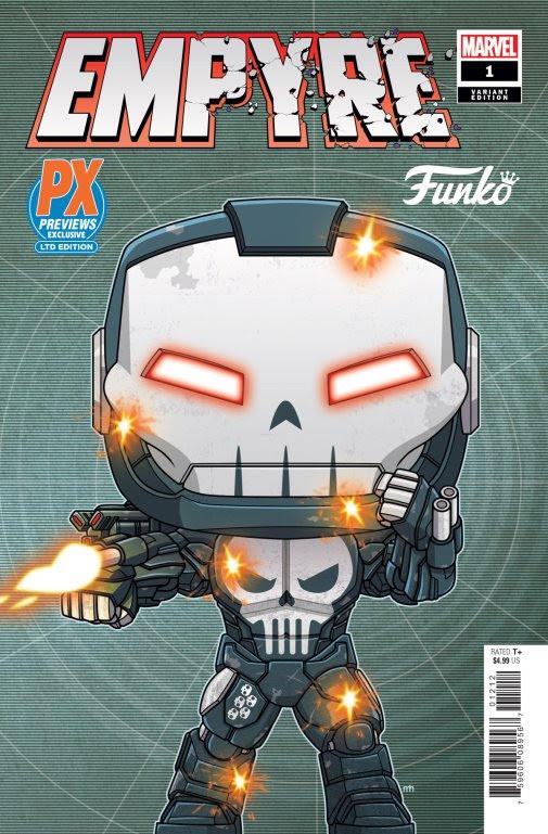 funko pop punisher war machine comic