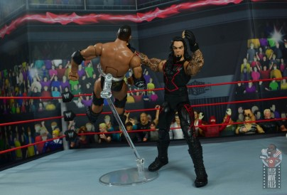 wwe hall of champions undertaker figure review - chokeslam to the rock